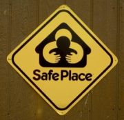 SafePlace sign
